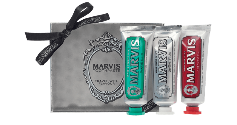 Marvis Travel size flavors